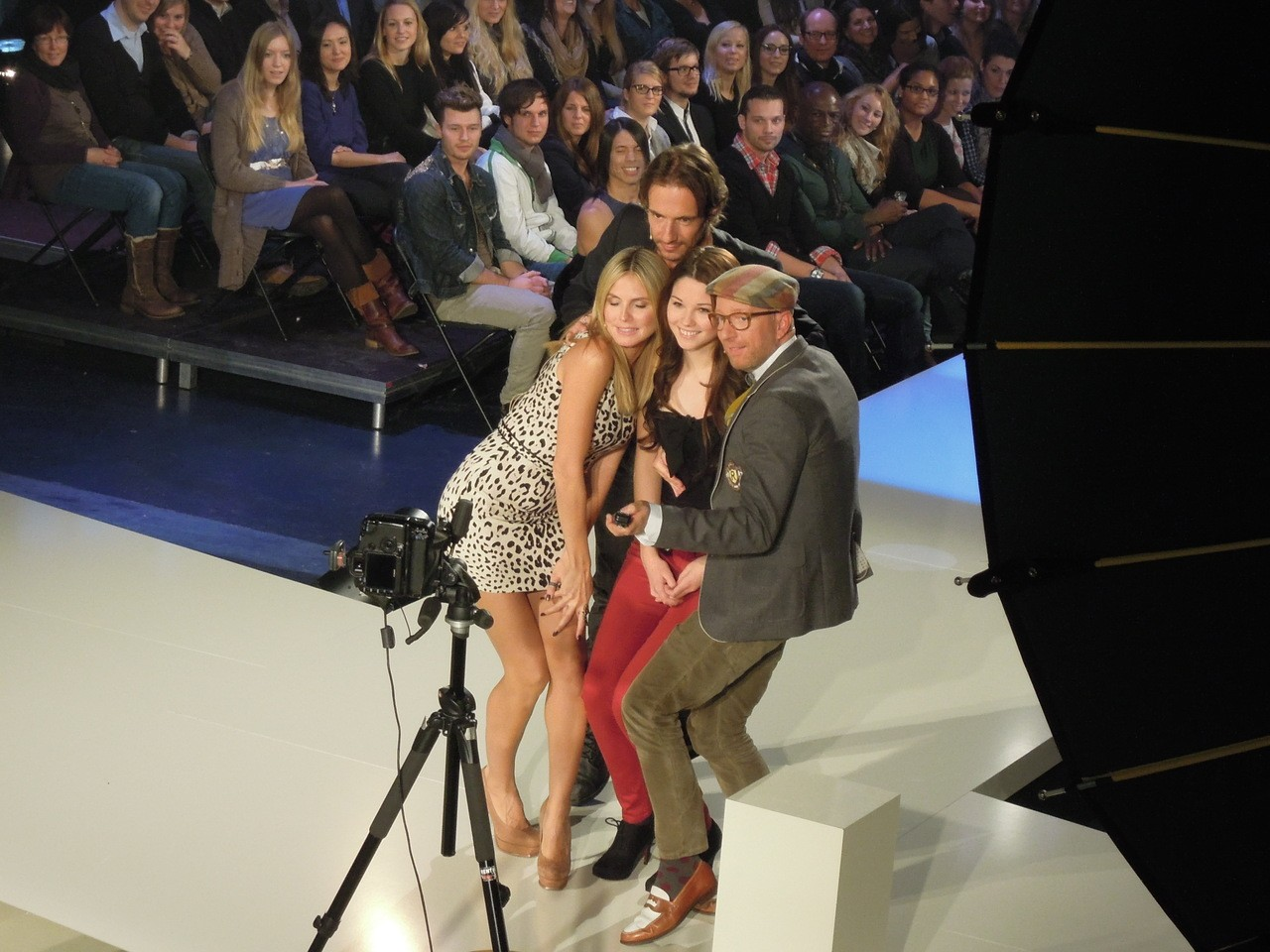Lighting von TMT beim Dreh von Germanys next Topmodel by Heidi Klum