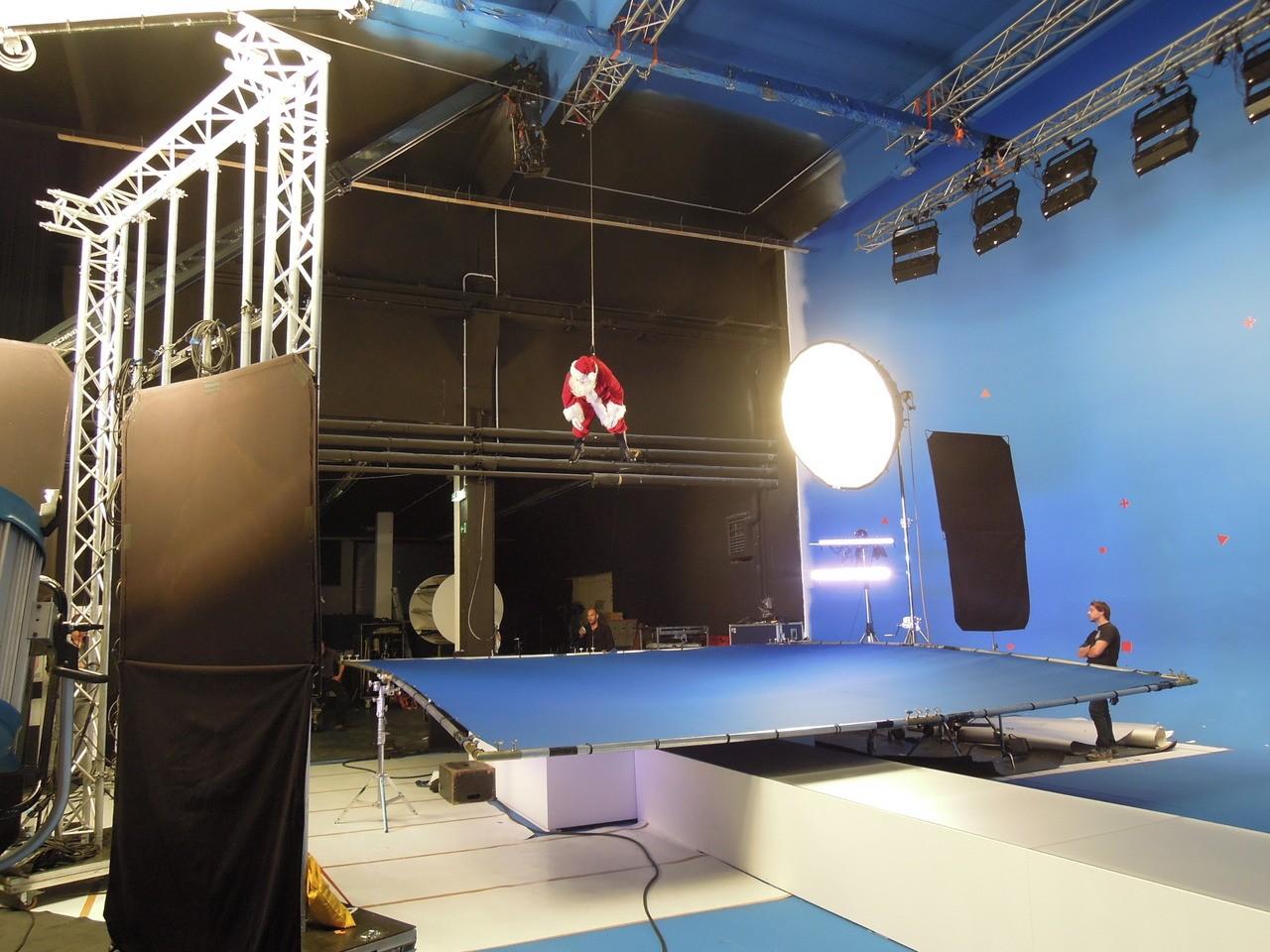 TMT Studio 2 für große Werbefilmproduktionen in München
