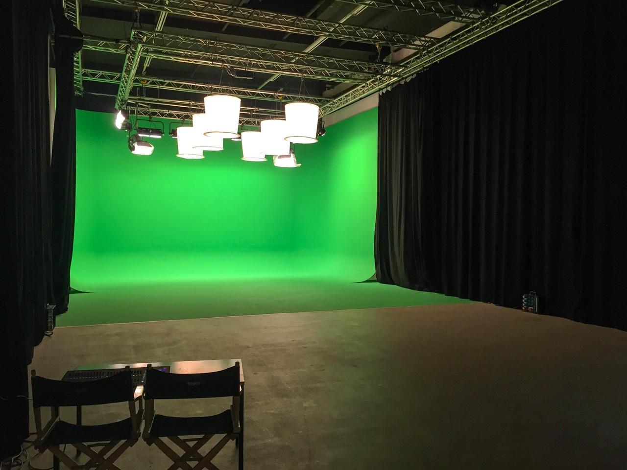 TMT Filmstudio Studio 1 in München mit Green Box